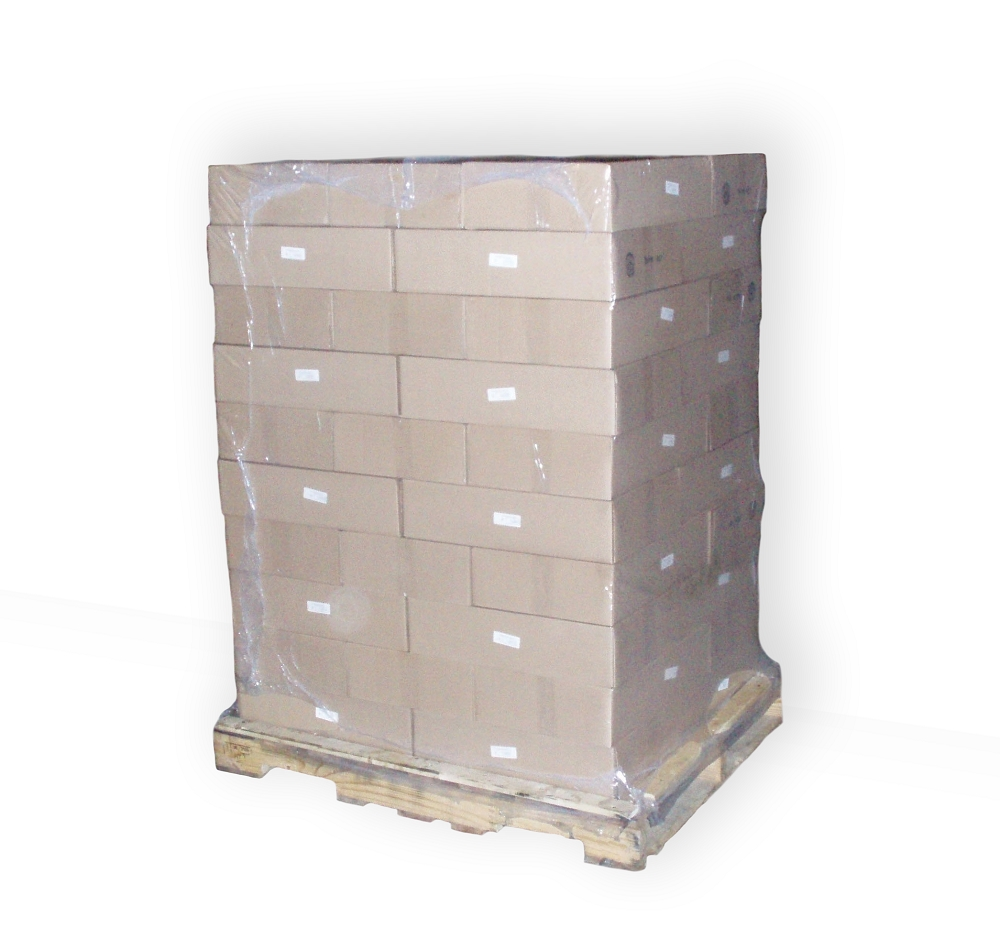 individual shrink wrap pallet bag 4 or 5 mil thick bags
