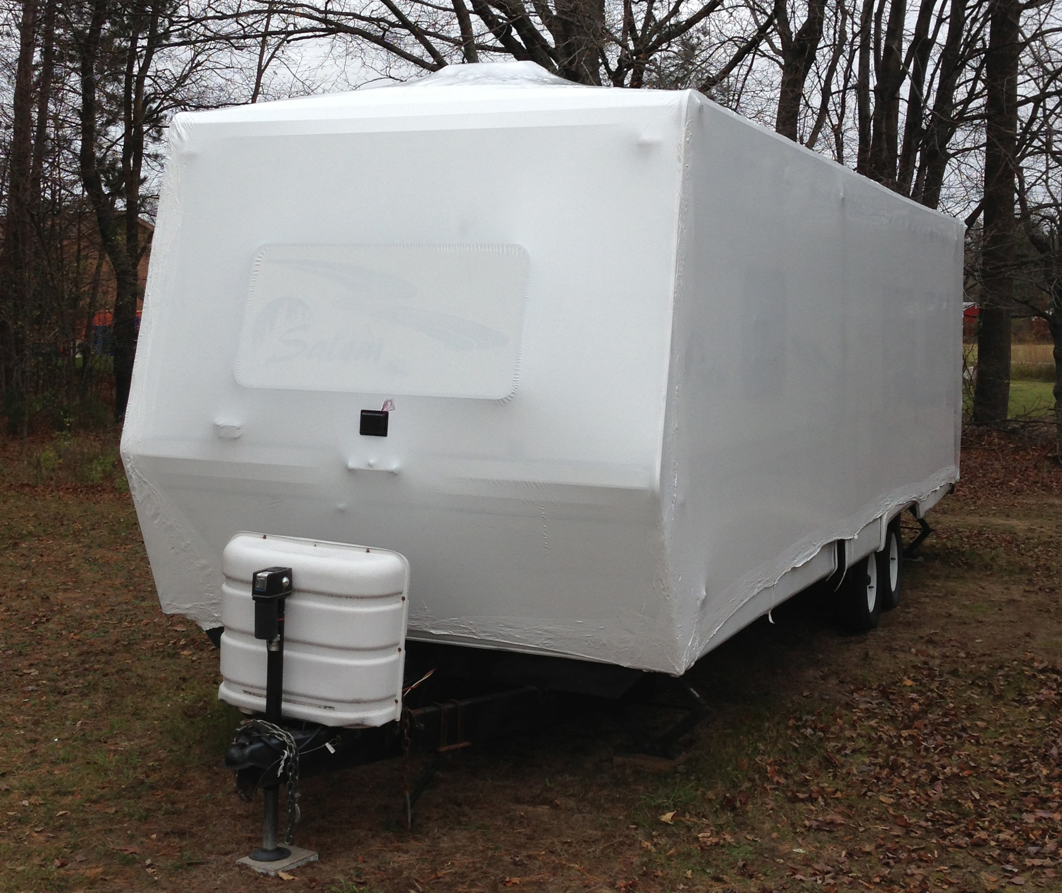 Traditional Rv Shrink Wrapping Kit For 10 Ft Trailers Up