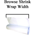 Browse by Shrink Wrap Width
