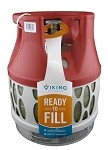Viking Cylinder 11 Pound Capacity Lightweight Composite Propane Tank