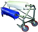 Dr. Shrink Go Cart Film Rack | Mobile Shrink Wrap Holder