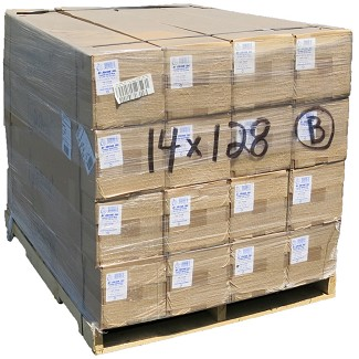 14' X 128' 7 mil Shrink Wrap - 16 rolls - Bulk Price