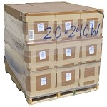20' X 240' 6 mil Shrink Wrap - 9 rolls - Bulk Price