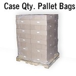 Shrink Wrap Pallet Bags | Case Qty. of  50-70, 4 or 5 mil Thick Bags