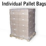 Individual Shrink Wrap Pallet Bag| 4 or 5 Mil Thick Bags