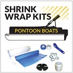 Pontoon Boat Shrink Wrapping Kit for Boats up to 29 ft Long